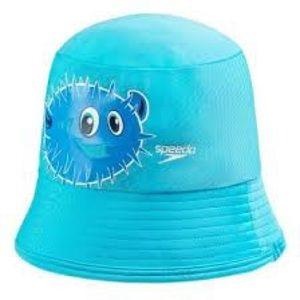 Speedo Toddler SPF 50 Blue Blowfish Bucket Hat